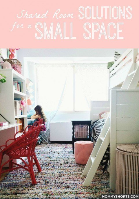 Best The Ultimate Small Shared Bedroom For Two Growing Girls Mommy Shorts With Pictures