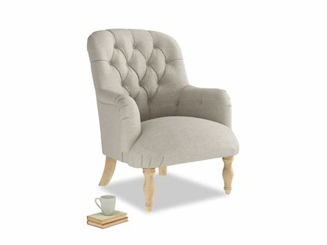Best Flump Bedroom Chair High Button Back Armchair Loaf With Pictures