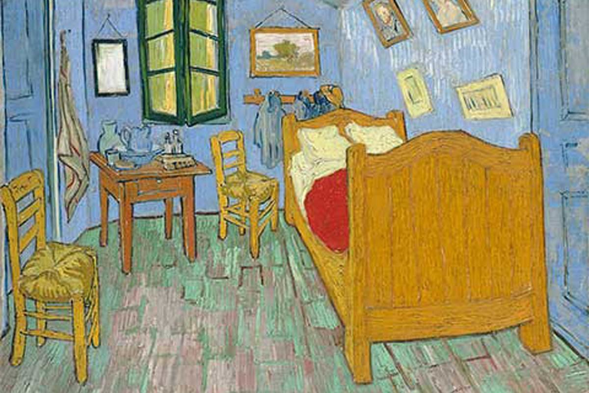 Best Art Institute Of Chicago Rents Replica Of Van Gogh With Pictures