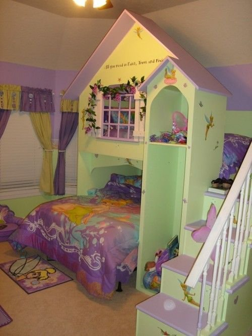 Best Create A Playhouse Bunkbed Style Bedroom Set For A With Pictures