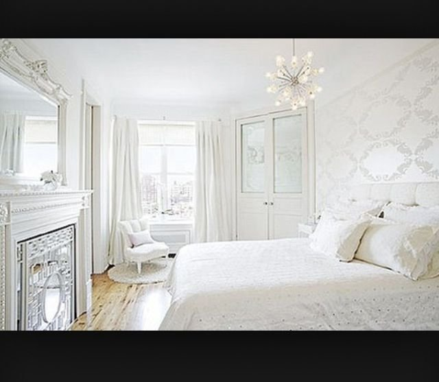 Best Plain Classy White Bedroom Home Designs Pinterest With Pictures