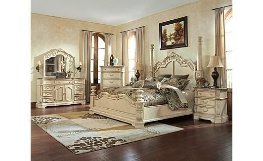 Best Ortanique Poster Bedroom Set By Ashley Old World Pinterest With Pictures