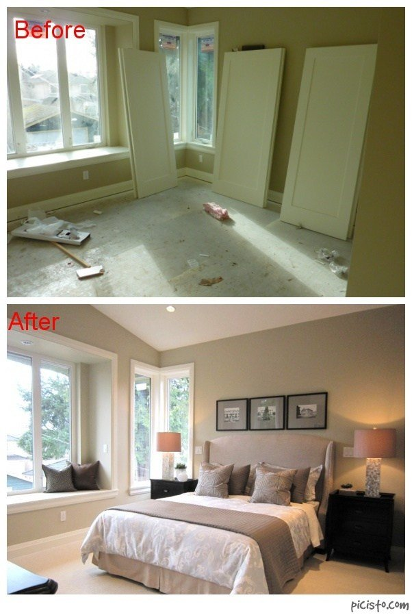 Best Before And After Bedroom Guest Room Pinterest With Pictures