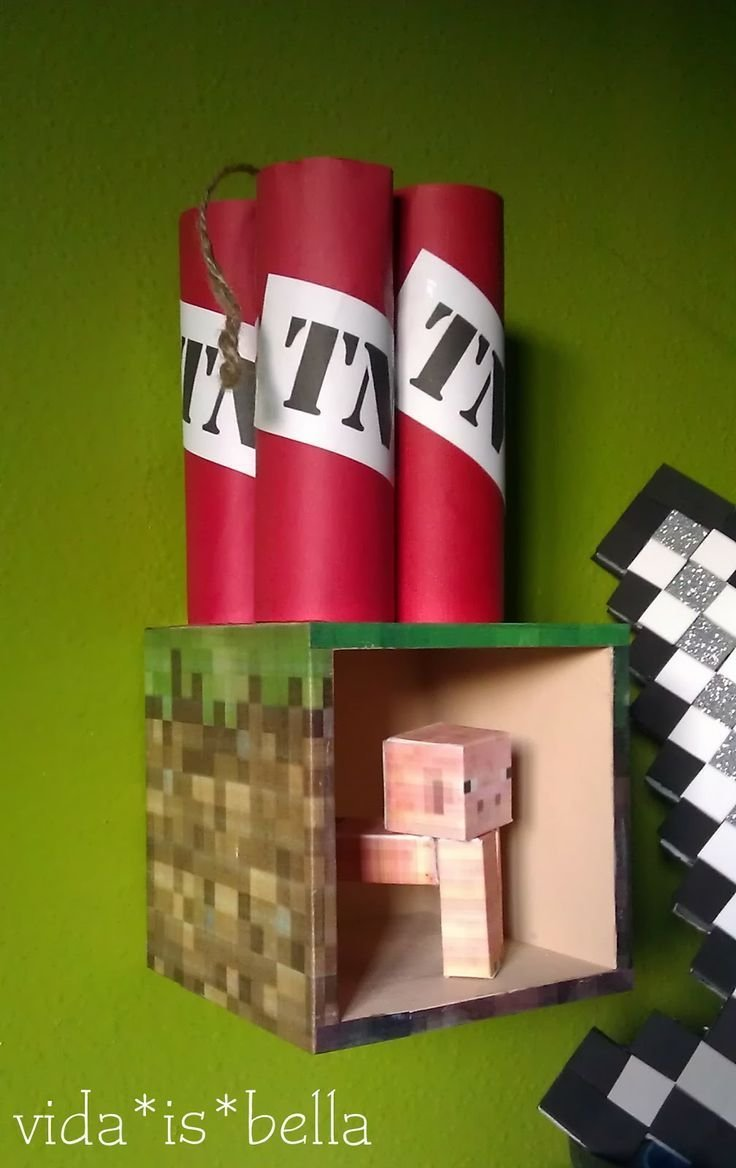 Best All New Diy Minecraft Room Decor With Pictures