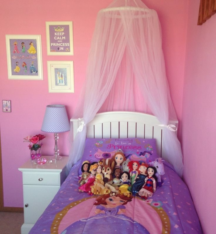 Best Sofia The First And Disney Princess Girl Bedroom Kids Room Pinterest With Pictures