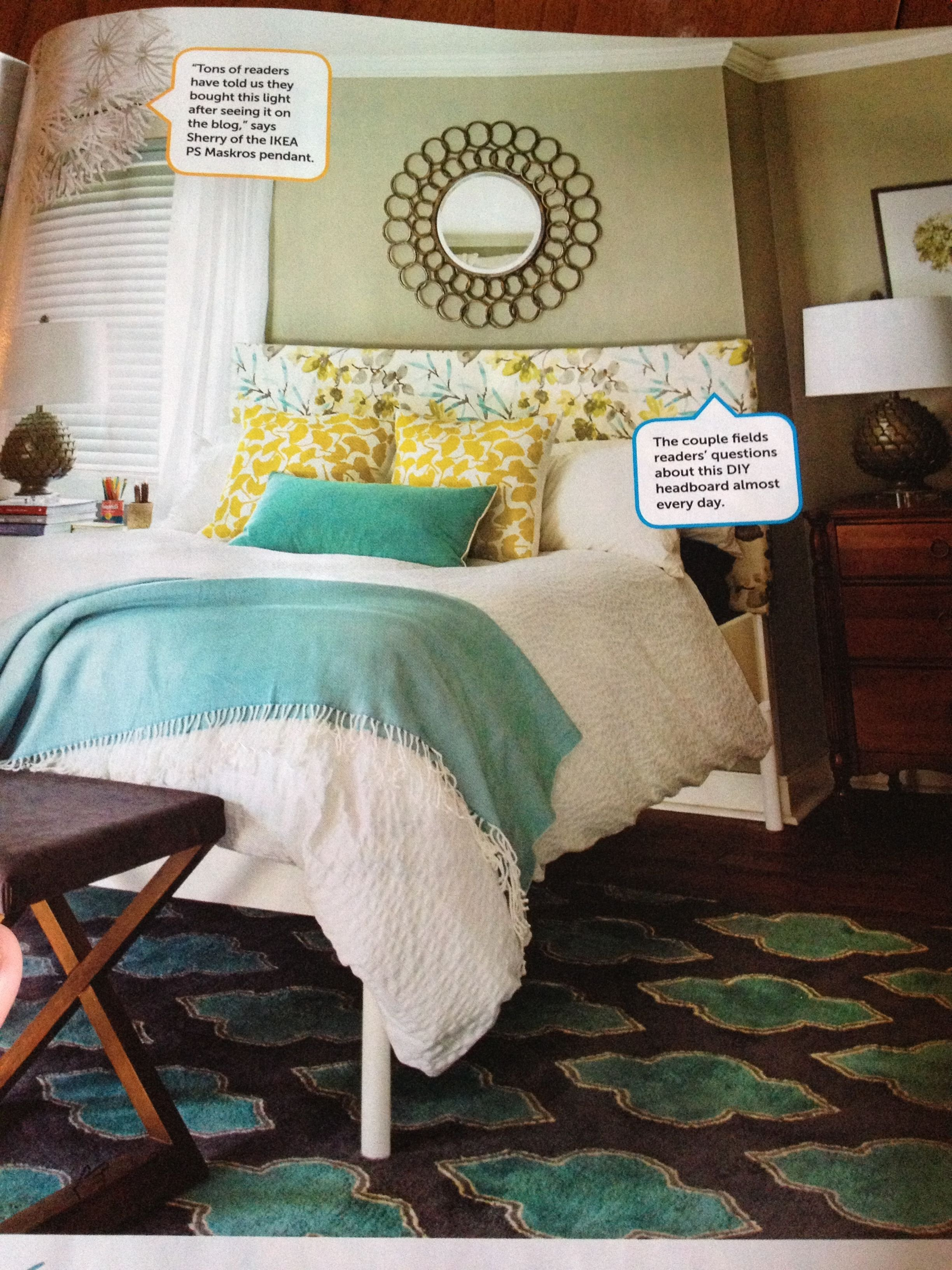 Best Teal And Yellow Bedroom For The Home Pinterest With Pictures