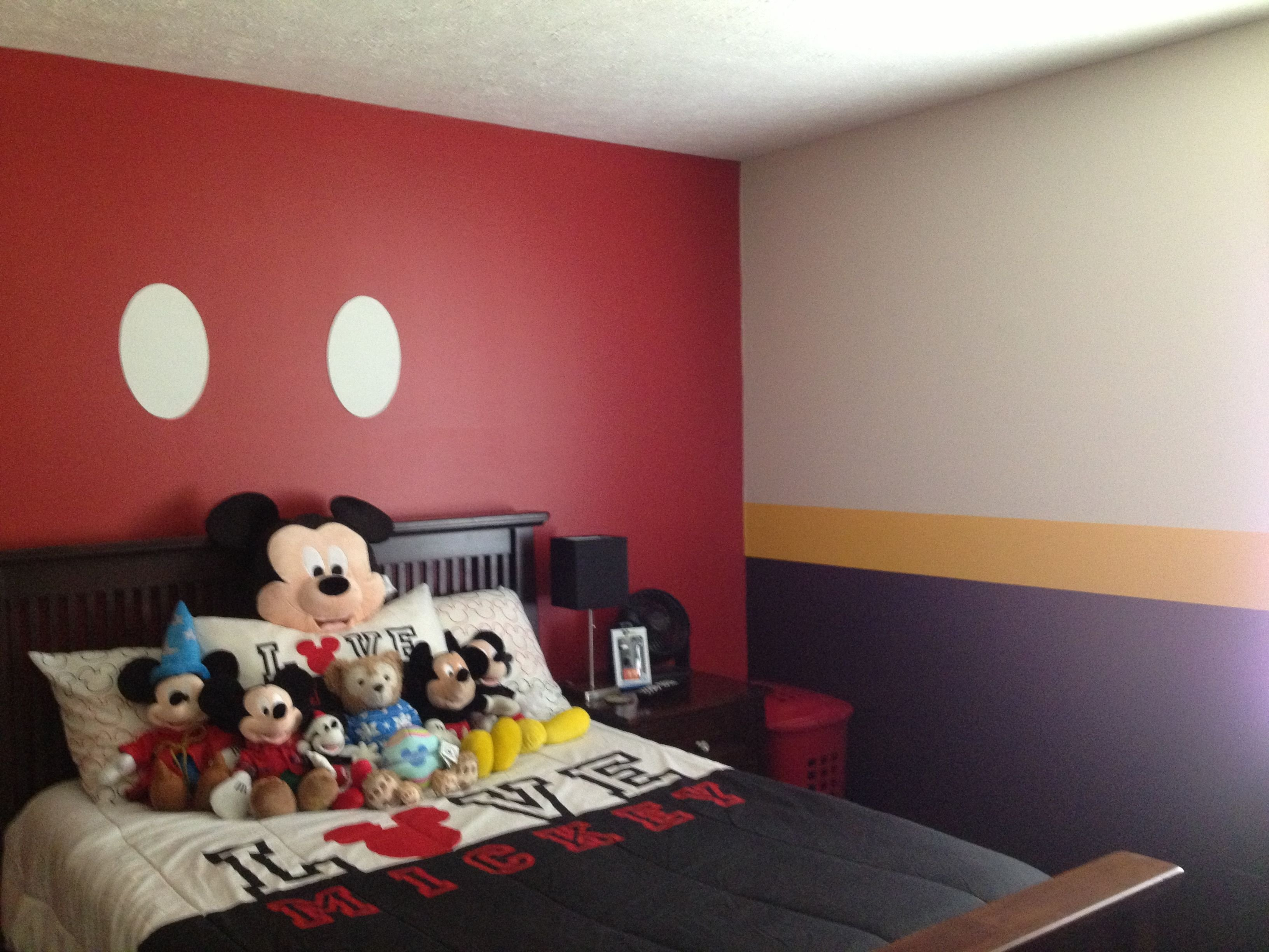 Best Mickey Mouse Bedroom Baby Kids Bedroom Ideas Pinterest With Pictures