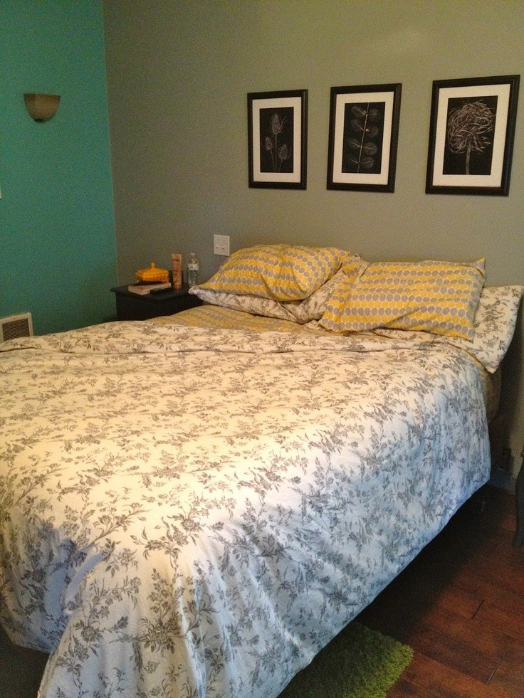 Best Grey Teal Yellow Bedroom New Bedroom At Moms Pinterest With Pictures