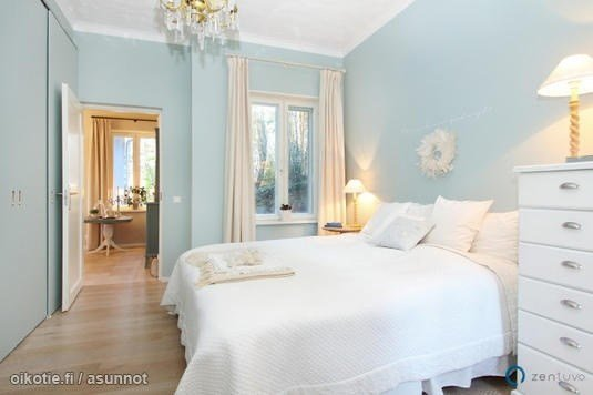 Best Light Blue Walls Vaaleansiniset Seinät Bedrooms With Pictures