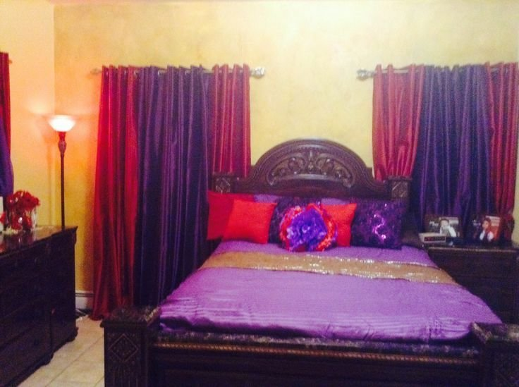 Best Purple And Red Bedroom For The Home Pinterest With Pictures
