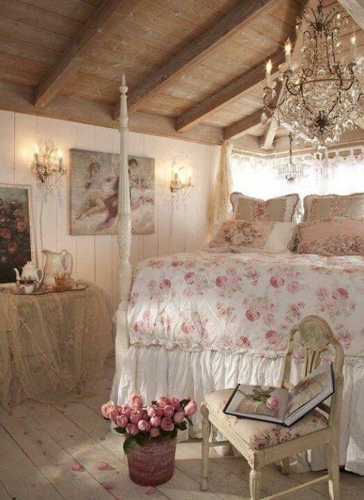 Best Rustic Romantic Bedroom Cottage Love Pinterest With Pictures