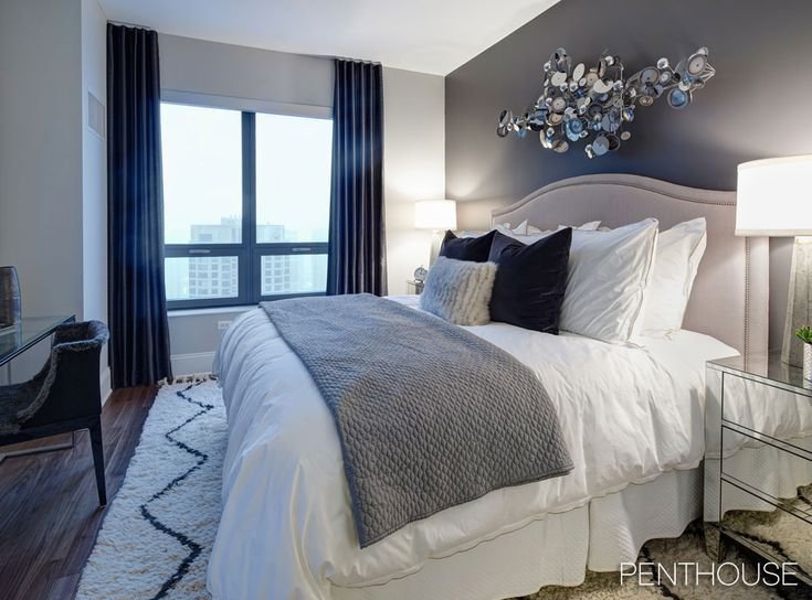 Best Navy Master Bedroom For The Home Pinterest With Pictures