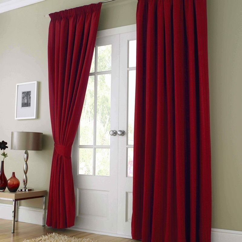 Best Red Curtains For The Bedroom Looks Pinterest With Pictures