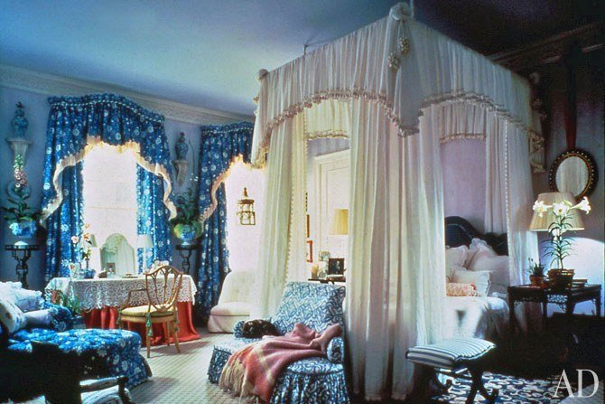 Best Mario Buatta S Romantic Bedrooms Architectural Digest With Pictures