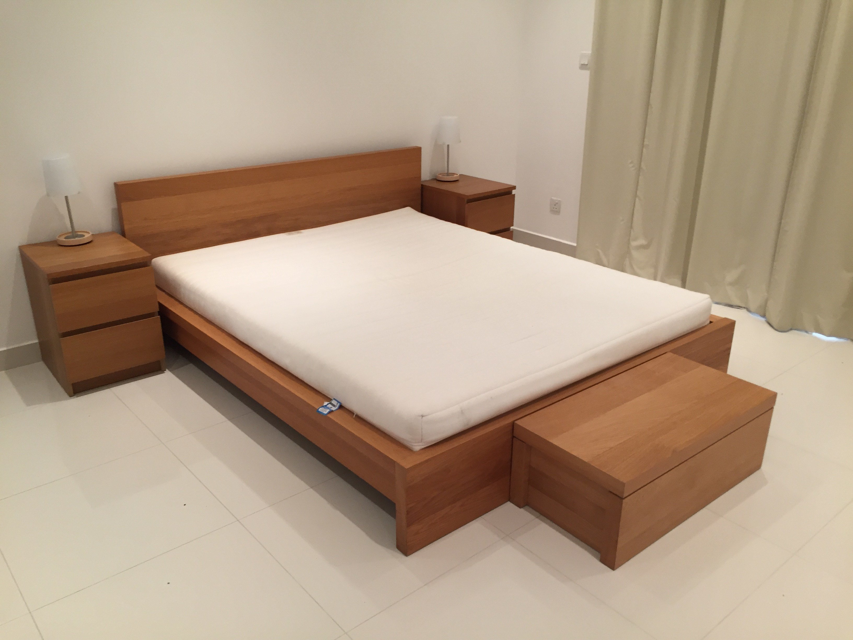 Best Ikea Bedroom Set Malm Mums In Bahrain With Pictures
