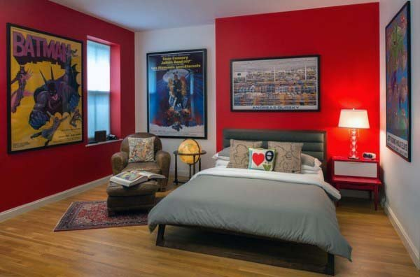 Best Top 30 Best Red Bedroom Ideas Bold Designs With Pictures