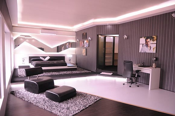 Best Salman Khan S Swanky Bigg Boss Pad Reality Tv Show Bigg Boss The Bedroom In Salman Khan S With Pictures