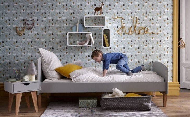Best 10 Great Kid's Bedrooms In Grey Tones Petit Small With Pictures