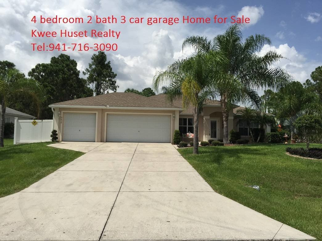 Best 4 Bedroom 2 Bath 3 Car Garage Home For Sale North Por With Pictures
