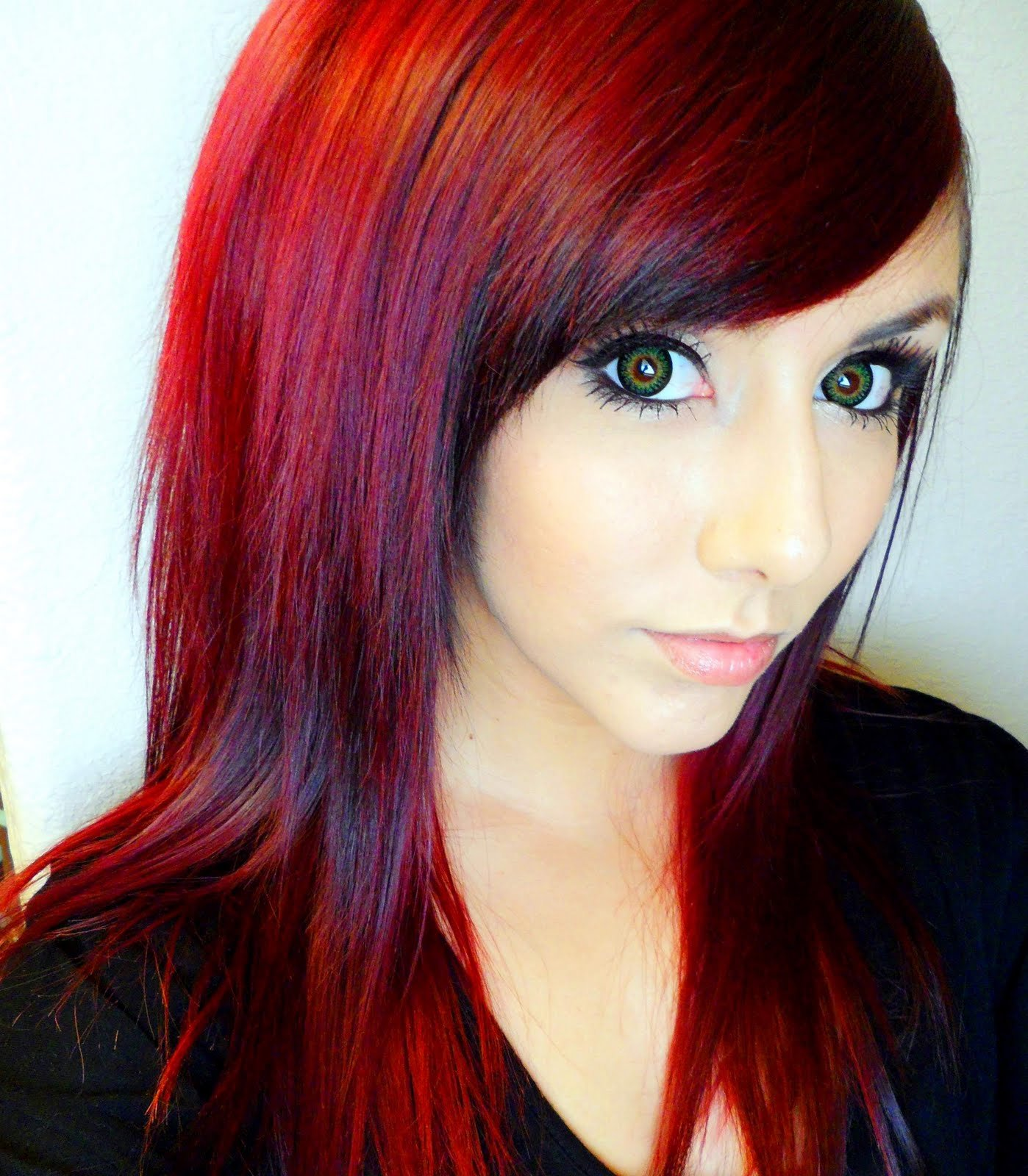 Free Technicolor My Hair Color How To Get Dark Red Hair Wallpaper