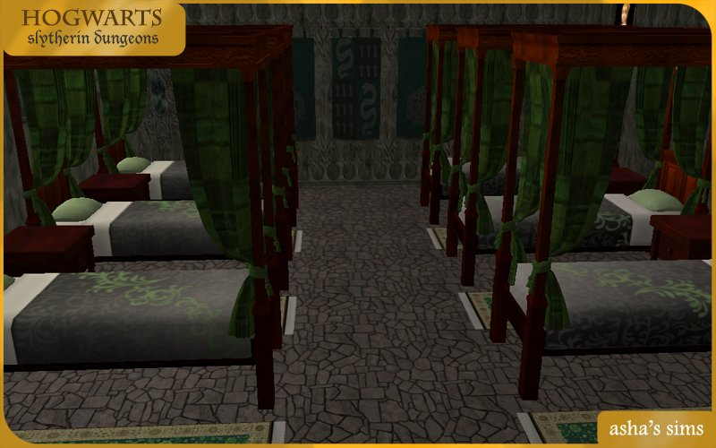 Best Asha S Sims Hogwarts Slytherin Dungeons With Pictures