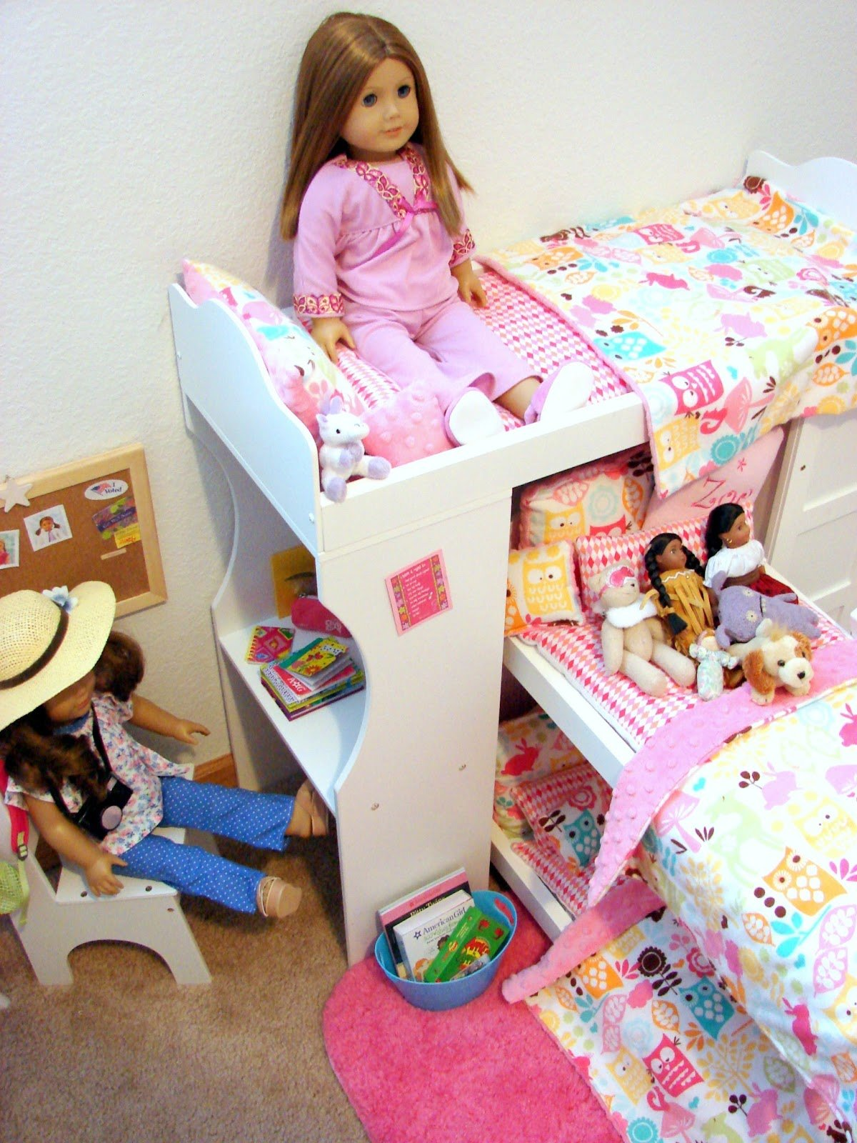 Best American Girl Doll Play Our Doll Play Area The Doll Bedroom With Pictures