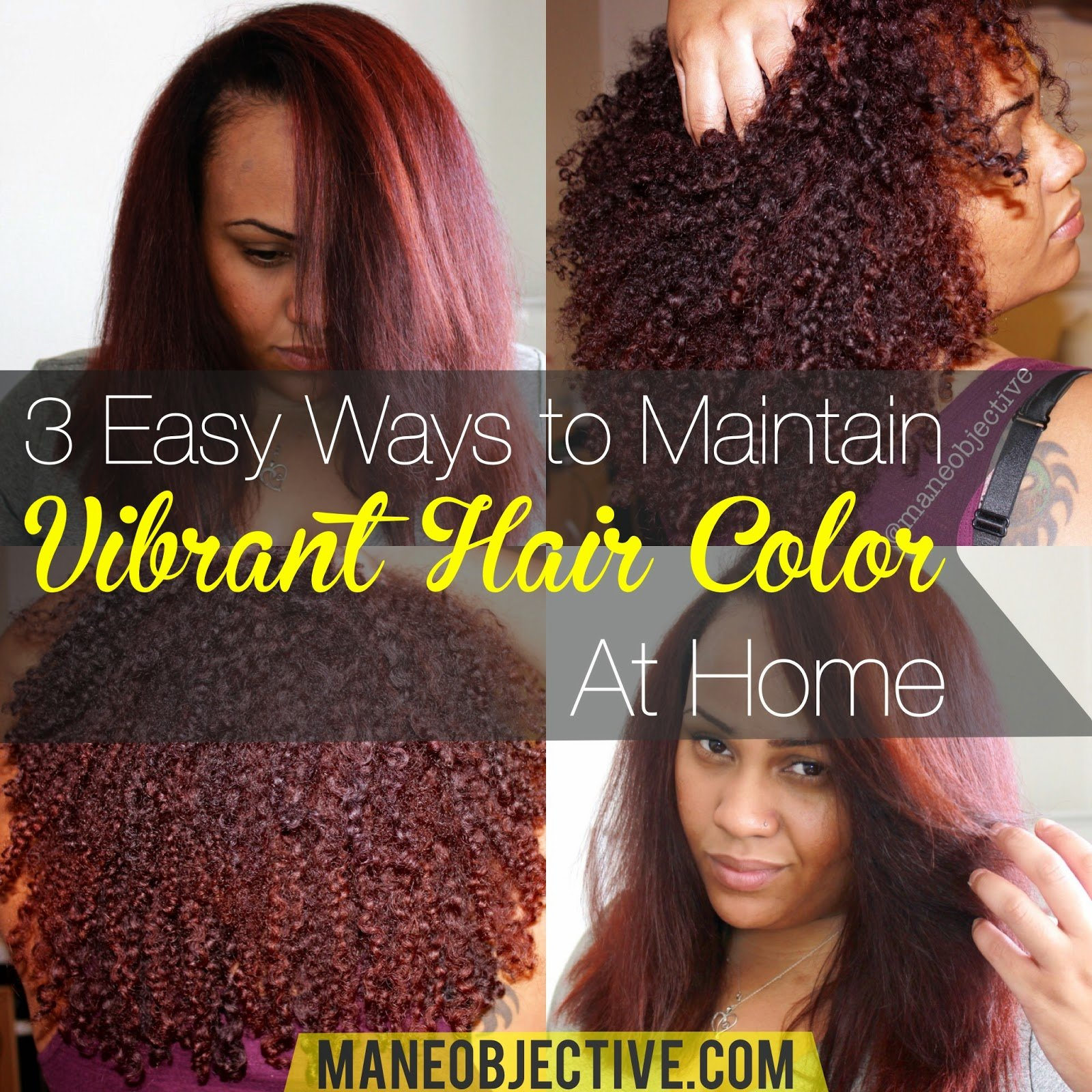 Free The Mane Objective 3 Easy Ways To Maintain Vibrant Hair Wallpaper