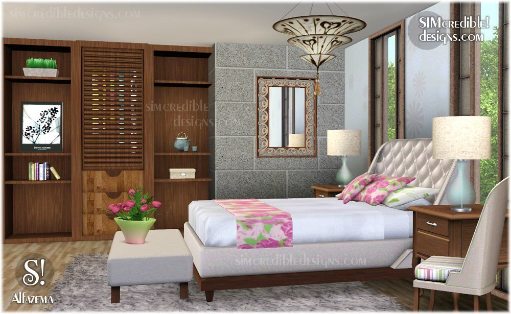 Best My Sims 3 Blog Alfazema Bedroom Set By Simcredible Designs With Pictures