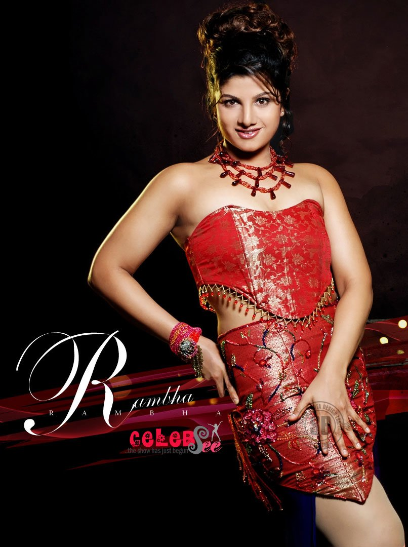 Best Celebsview Rambha Hot Photos With Pictures