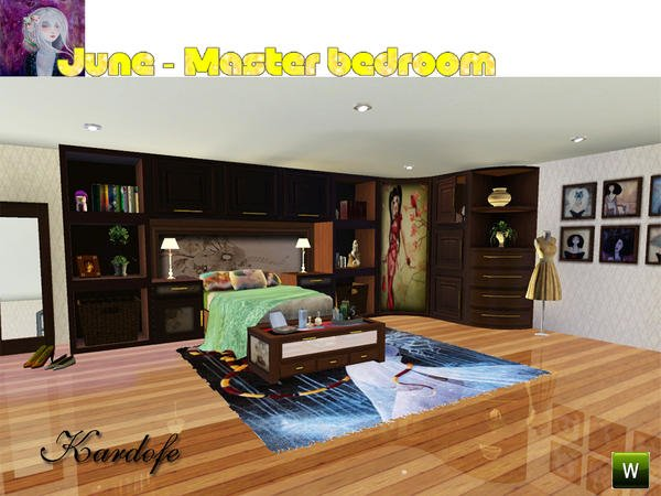Best My Sims 3 Blog Kardofe S June Master Bedroom With Pictures