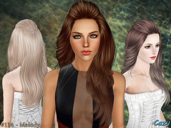 Free My Sims 3 Blog Cazy Melody Hair For Females Wallpaper