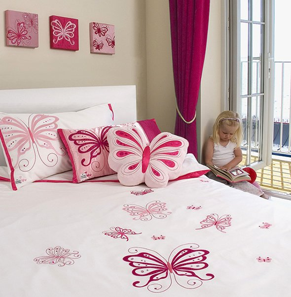 Best Butterfly Pink Interior Designs Bedroom To Kids Home With Pictures