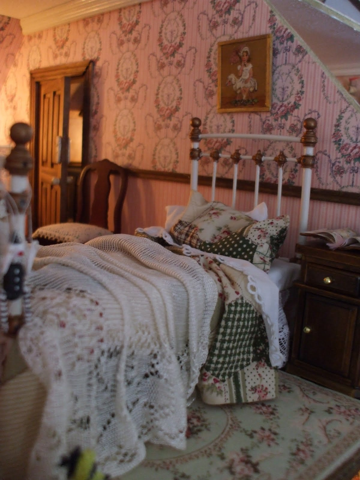 Best Diary Of An Edwardian Dolls House Belle S Bedroom Work With Pictures