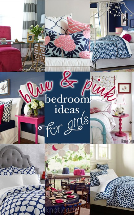Best Blue And Pink Bedroom Ideas For Girls Entirely Eventful Day With Pictures