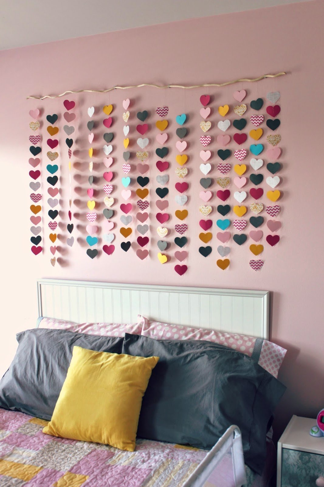 Best All Things Diy Room Reveal Girl S Bedroom On A Budget With Pictures