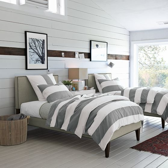 Best Shorely Chic Horizontal Wood Paneling With Pictures