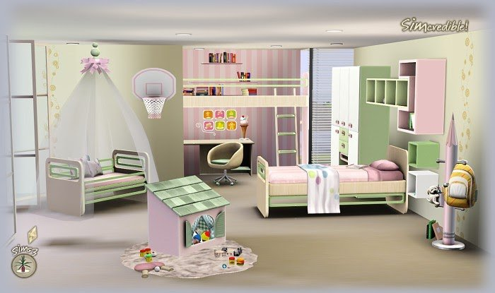 Best My Sims 3 Blog Little Wonders Bedroom Set By Simcredible With Pictures