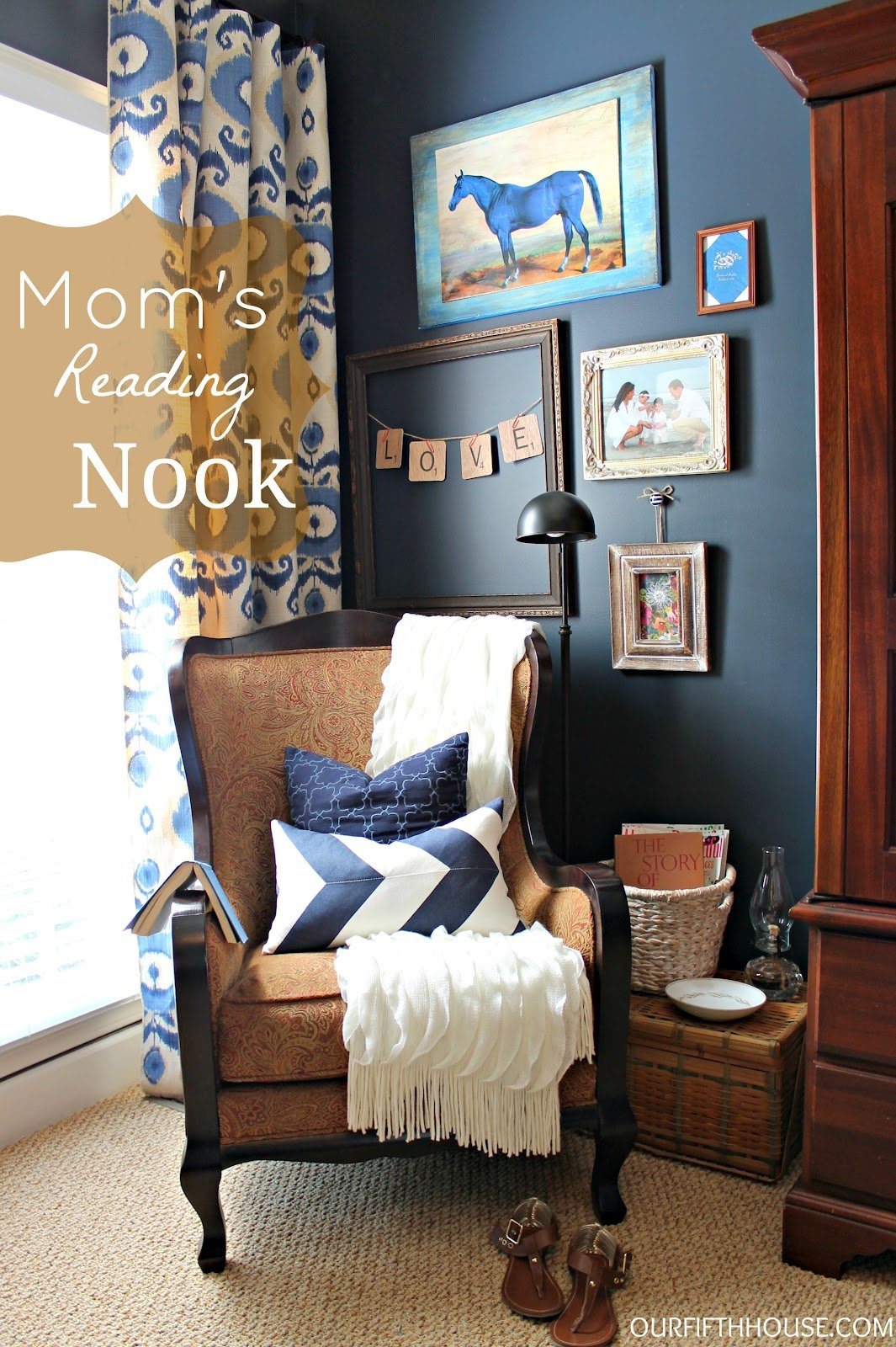 Best Mom S Reading Nook A K A My New Favorite Corner Of The With Pictures