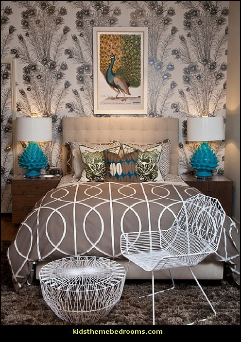 Best Decorating Theme Bedrooms Maries Manor Peacock With Pictures