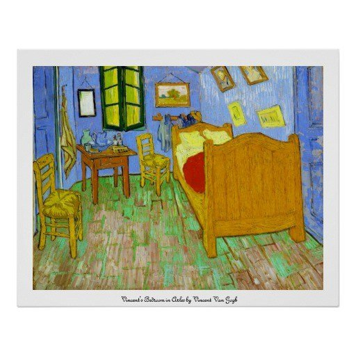Best Vincent S Bedroom In Arles By Vincent Van Gogh Poster Zazzle With Pictures