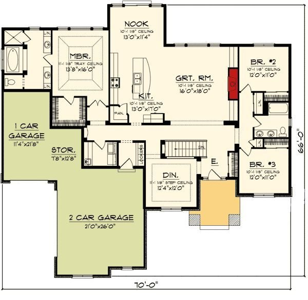 Best 16 Best Photo Of 3 Bedroom Ranch House Floor Plans Ideas With Pictures