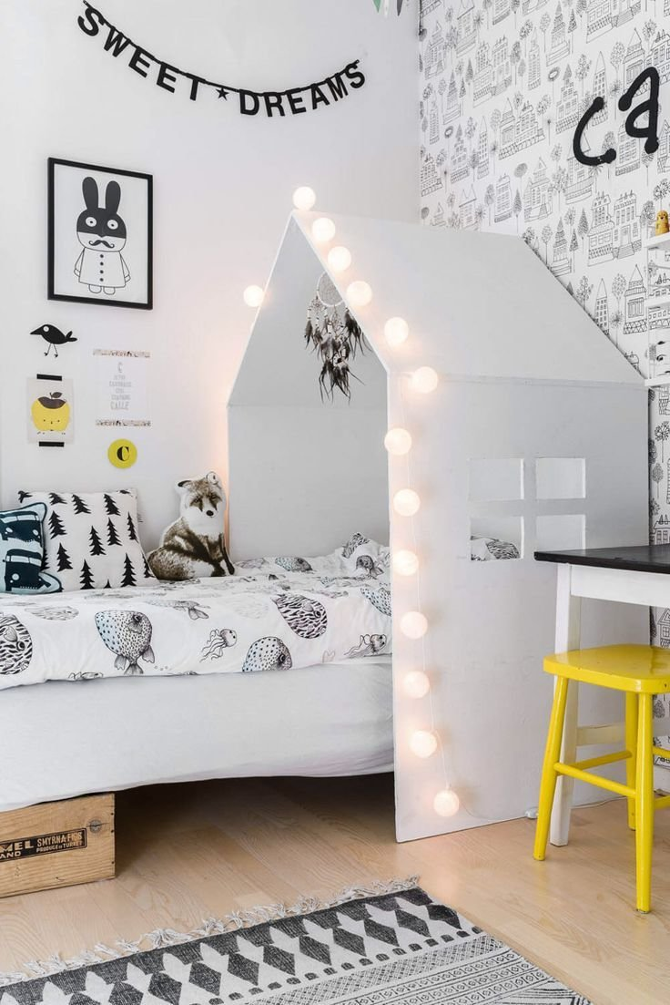 Best Black And White Decorations For Kids Rooms With Pictures