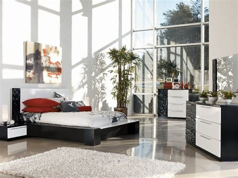 Best Bardini Piroska Dresser Mirror In Black White Bed With Pictures