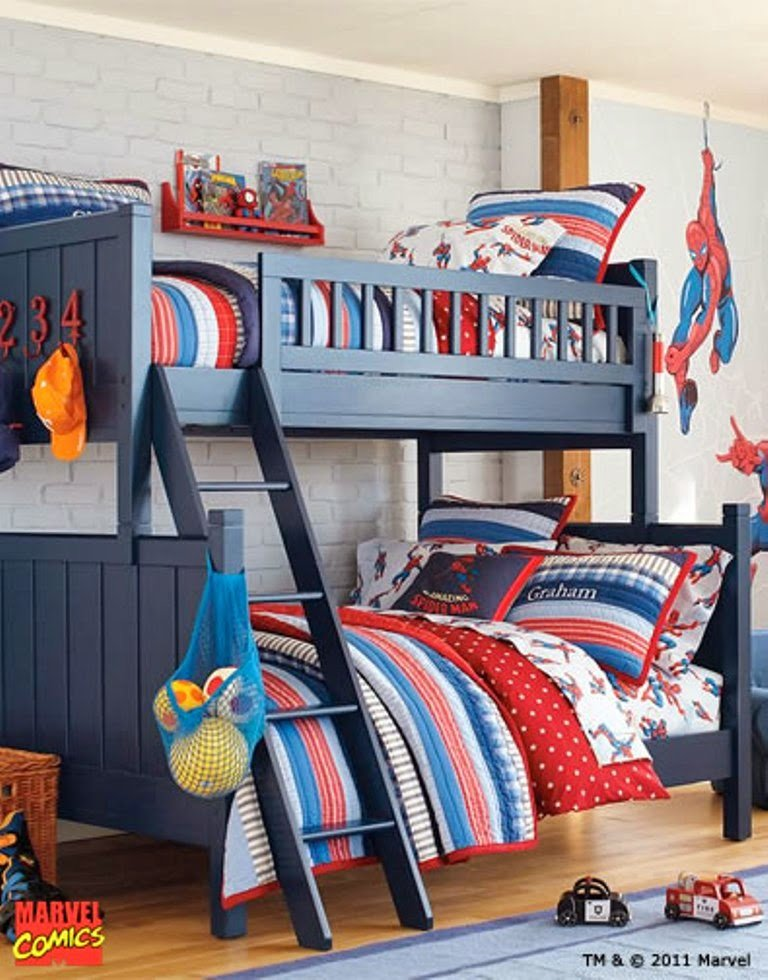 Best Themed Kids Bedroom Design Superhero Nunudesign With Pictures