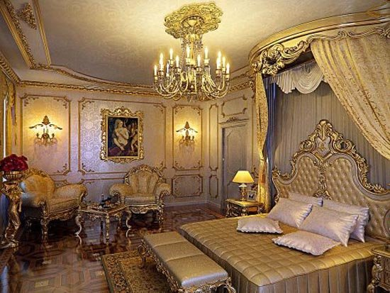 Best Top Most Elegant Beds And Bedrooms In The World Gold With Pictures