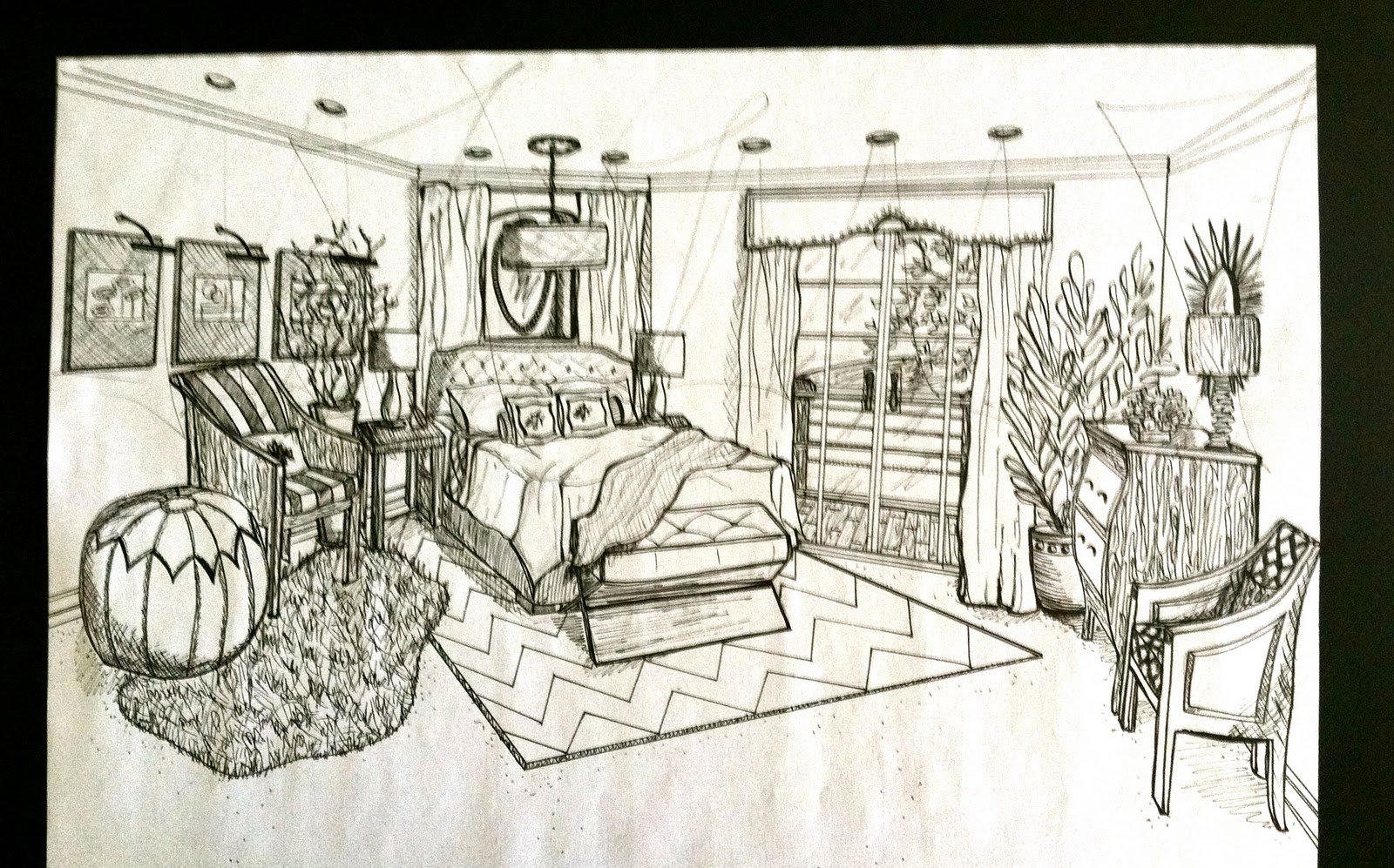 Best Brandalyn Designs Perspective Drawing Master Bedroom With Pictures