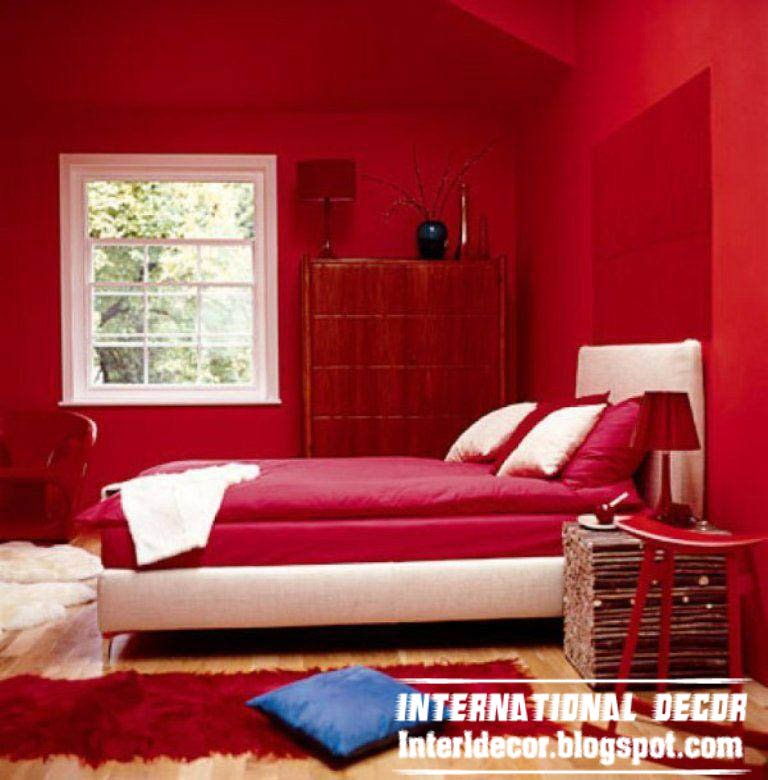Best Red Interior Bedroom Designs Red Bedrooms Designs With Pictures
