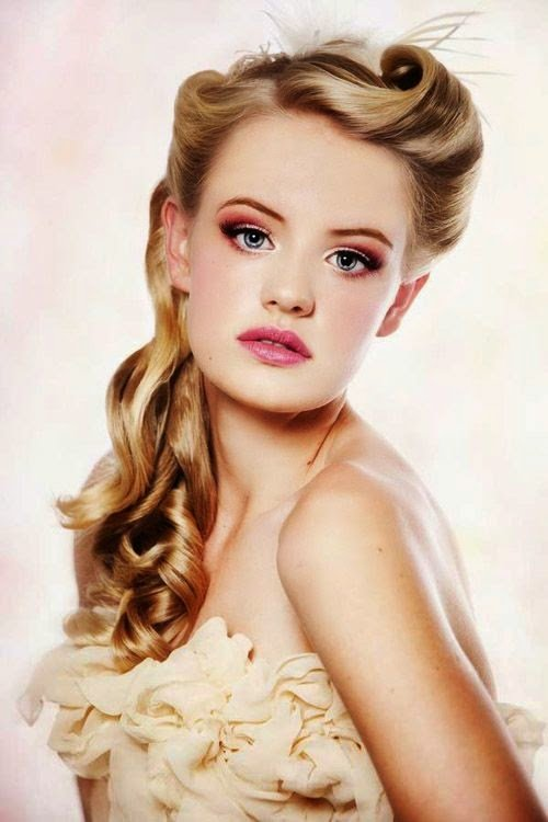 Free Vintage Hairstyles Vintage Hairstyles For Prom Party Wallpaper