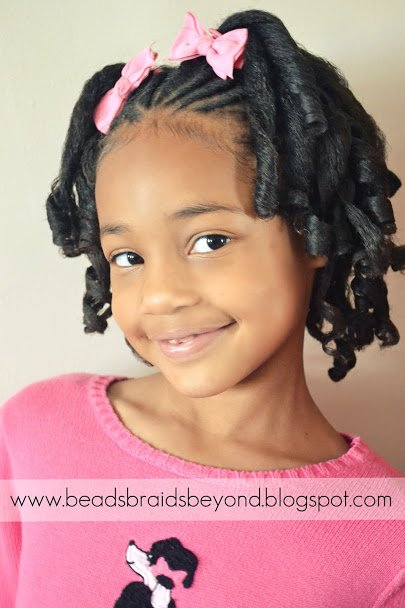 Free Beads Braids And Beyond Little Girls Natural Hairstyle Wallpaper