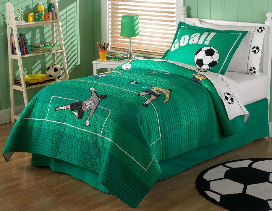 Best Boy Bedroom Design With Soccer Themehome Designs With Pictures